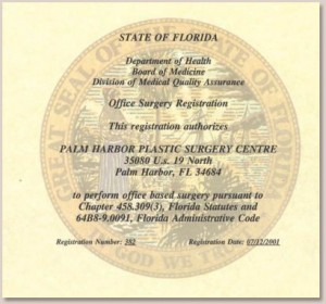 State Of Florida Certification